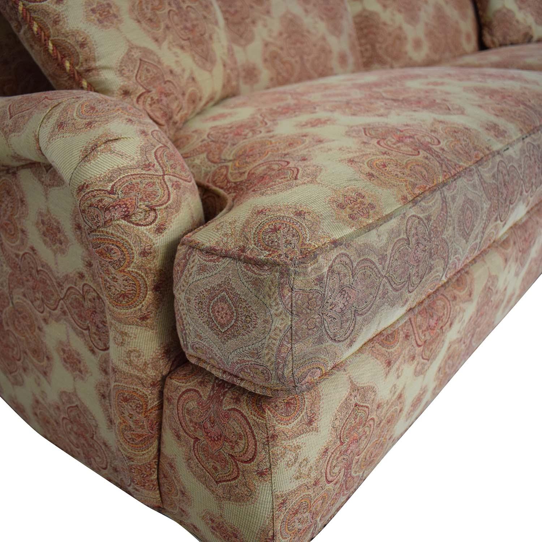 Stickley Furniture Stickley Furniture Patterned Upholstered Sofa on sale