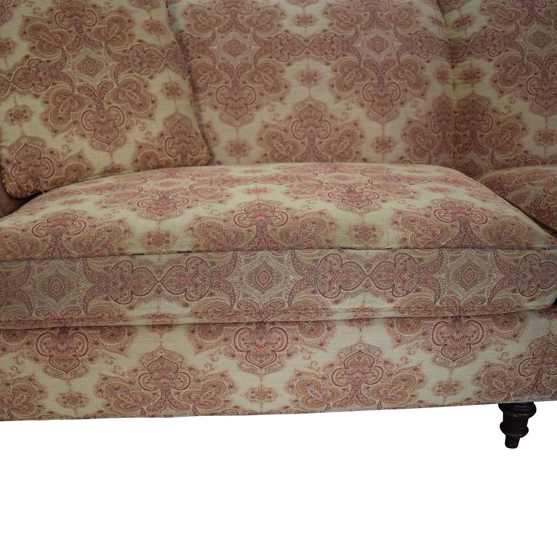 buy Stickley Furniture Patterned Upholstered Sofa Stickley Furniture Sofas