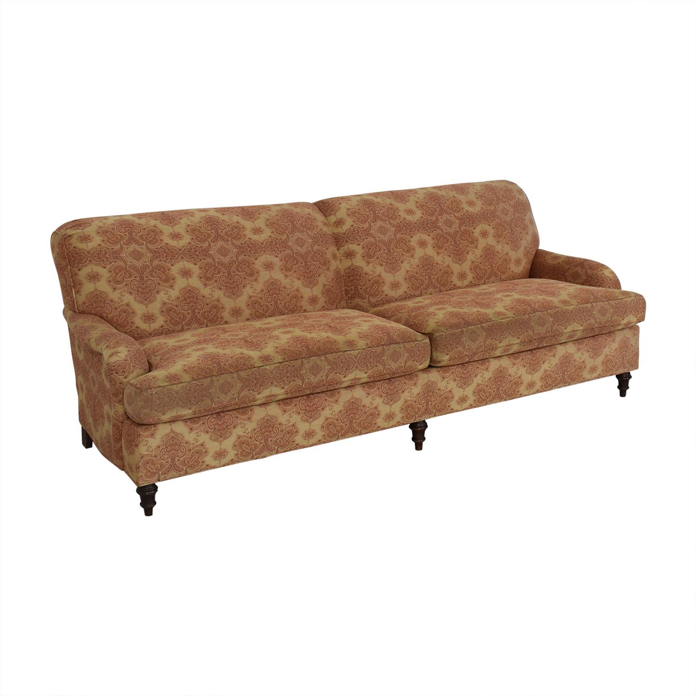 Stickley Furniture Patterned Upholstered Sofa Stickley Furniture