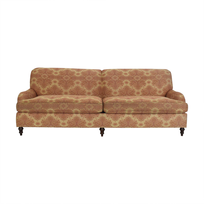 Stickley Furniture Stickley Furniture Patterned Upholstered Sofa price