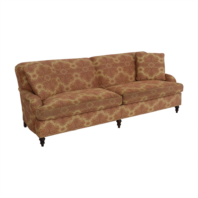 Stickley Furniture Stickley Furniture Patterned Upholstered Sofa Sofas