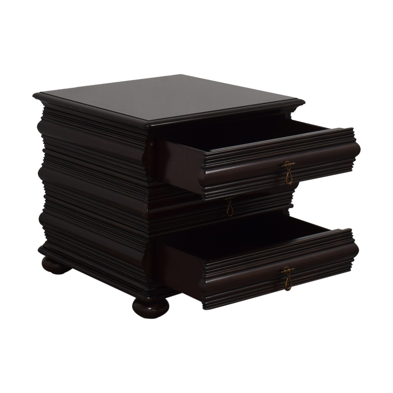 Tommy Bahama Home Tommy Bahama Home Two Drawer End Table End Tables
