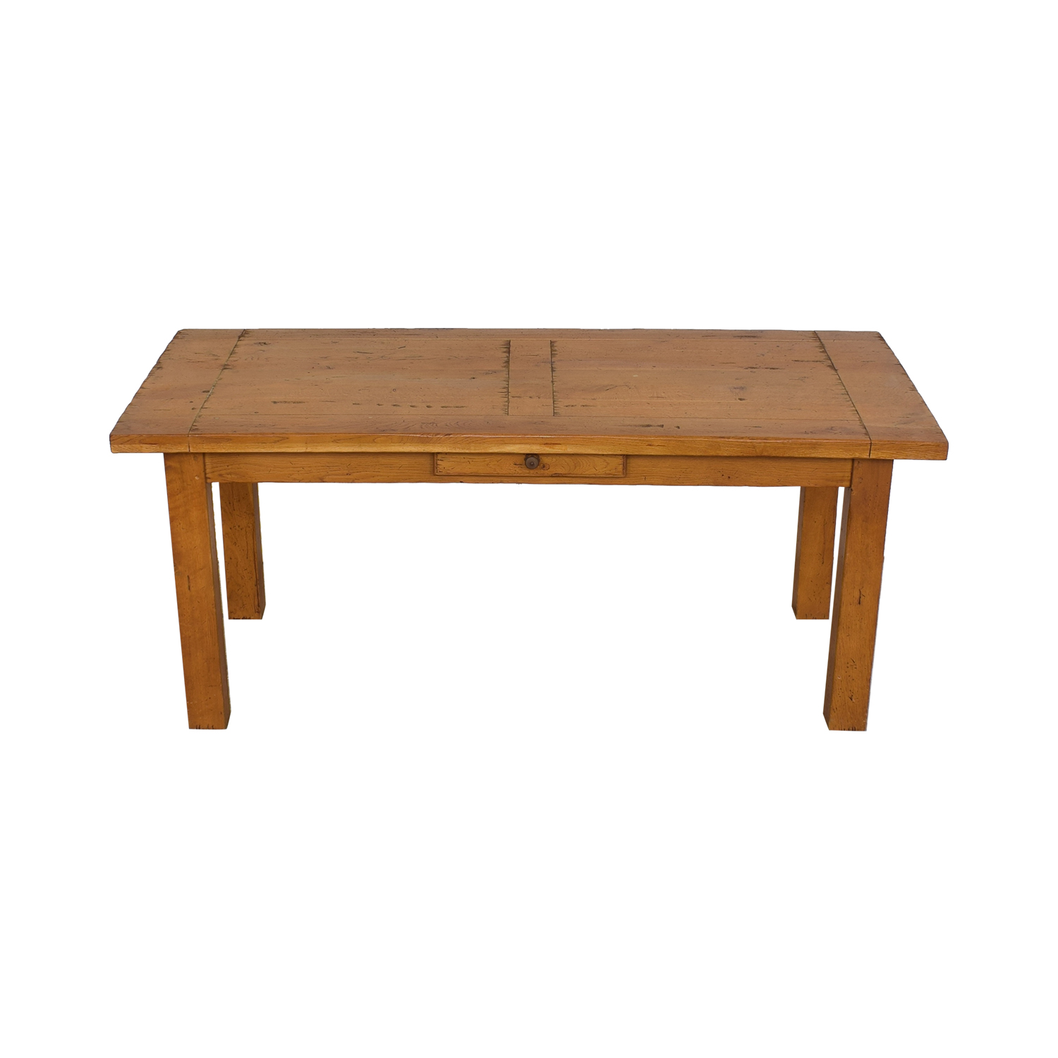 Crate & Barrel Crate & Barrel French Farm Dining Table brown