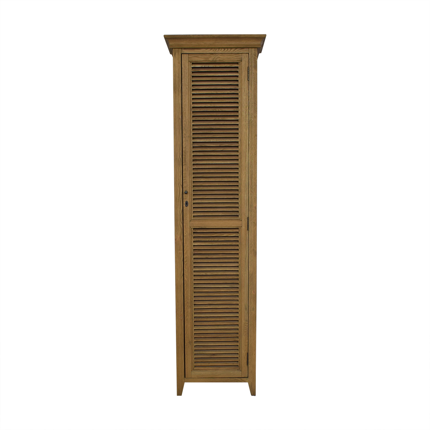 Restoration Hardware Shutter Tall Bath Cabinet / Storage