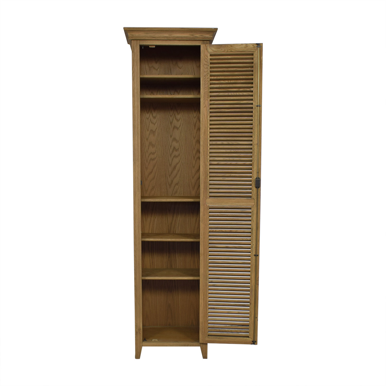 Restoration Hardware Shutter Tall Bath Cabinet / Storage