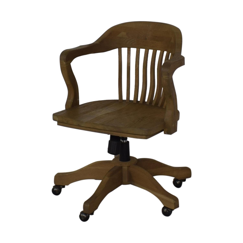 Restoration Hardware Restoration Hardware Bankers Chair dimensions