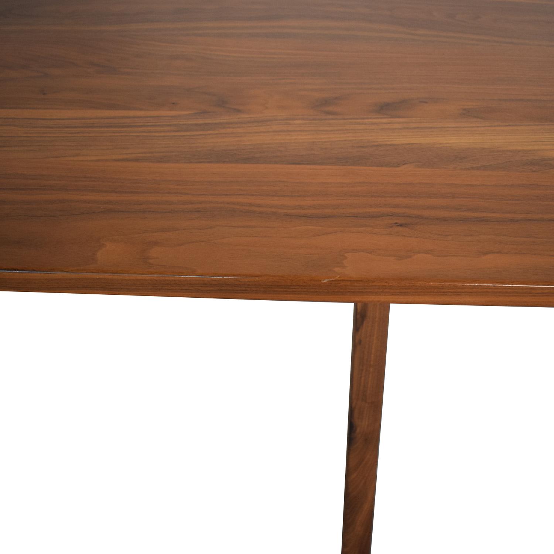 Moderncre8ve Moderncre8ve Sputnik Walnut Dining Table brown