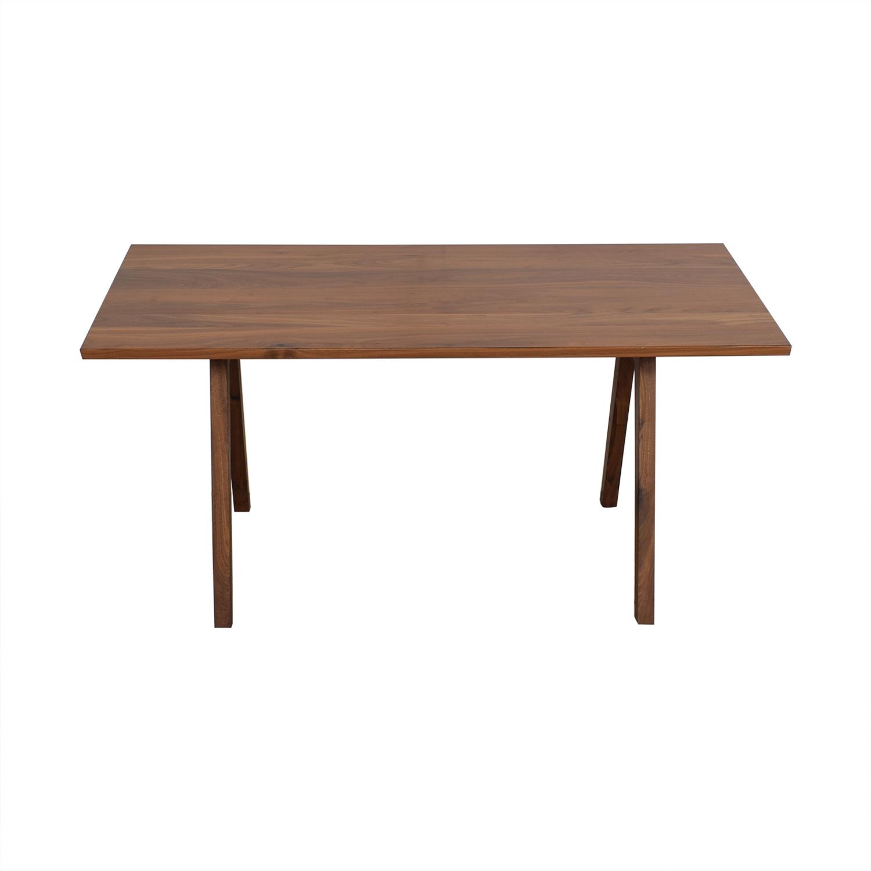 Moderncre8ve Sputnik Walnut Dining Table sale