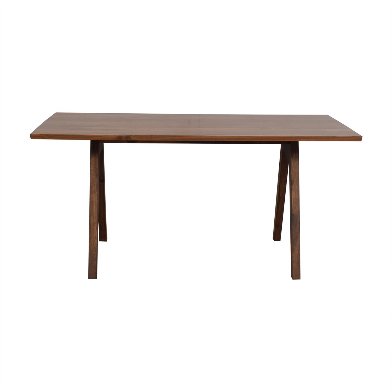 Moderncre8ve Moderncre8ve Sputnik Walnut Dining Table Tables