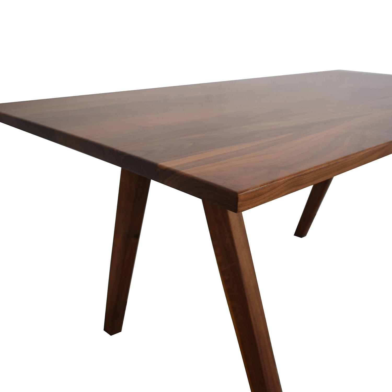 Moderncre8ve Sputnik Walnut Dining Table / Dinner Tables