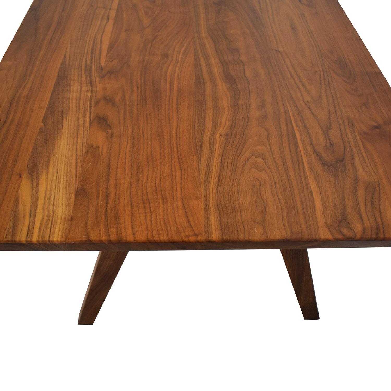 Moderncre8ve Moderncre8ve Sputnik Walnut Dining Table on sale