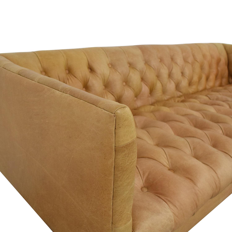 West Elm Modern Chesterfield Sofa / Sofas