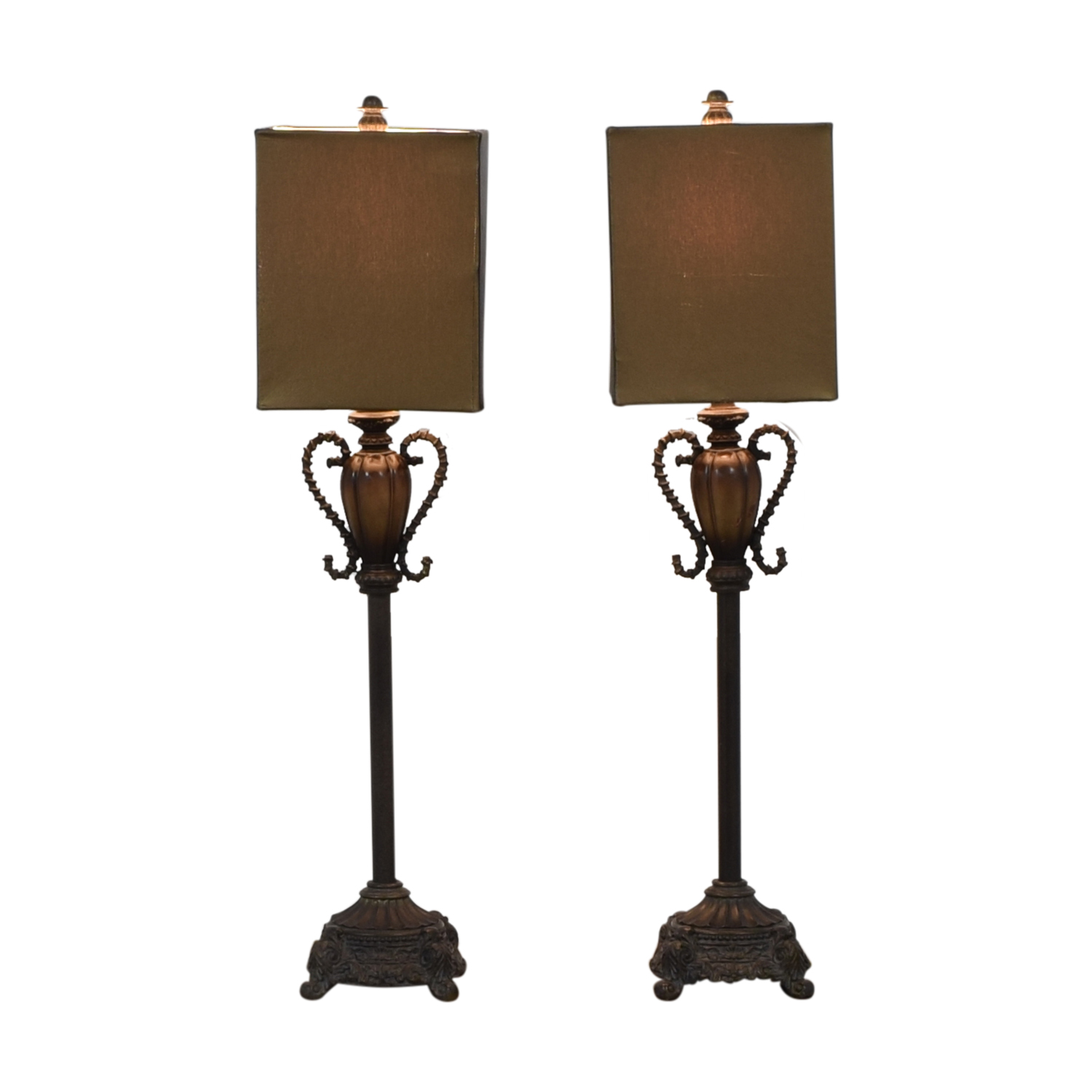 shop Brass and Leather Lamps Neiman Marcus
