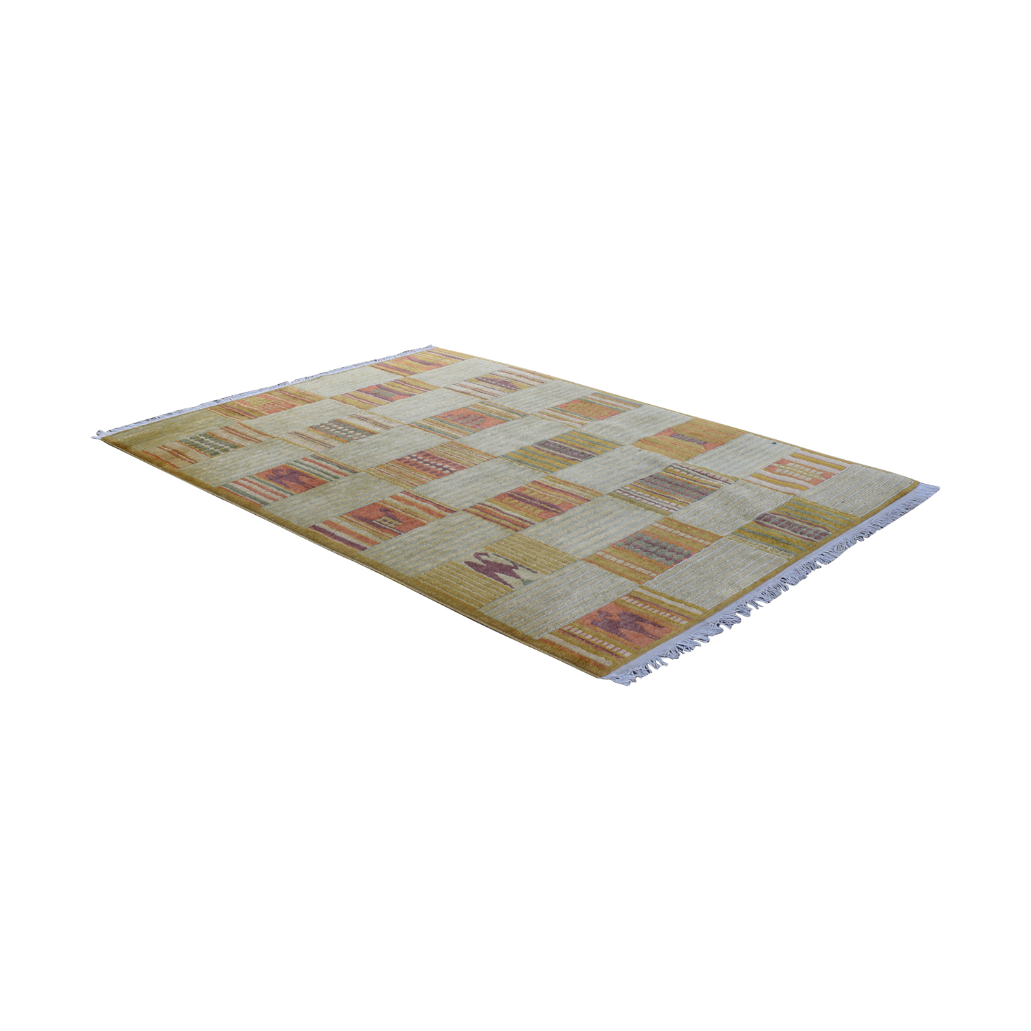 ABC Carpet & Home ABC Carpet & Home Hand-Knotted Wool Rug for sale