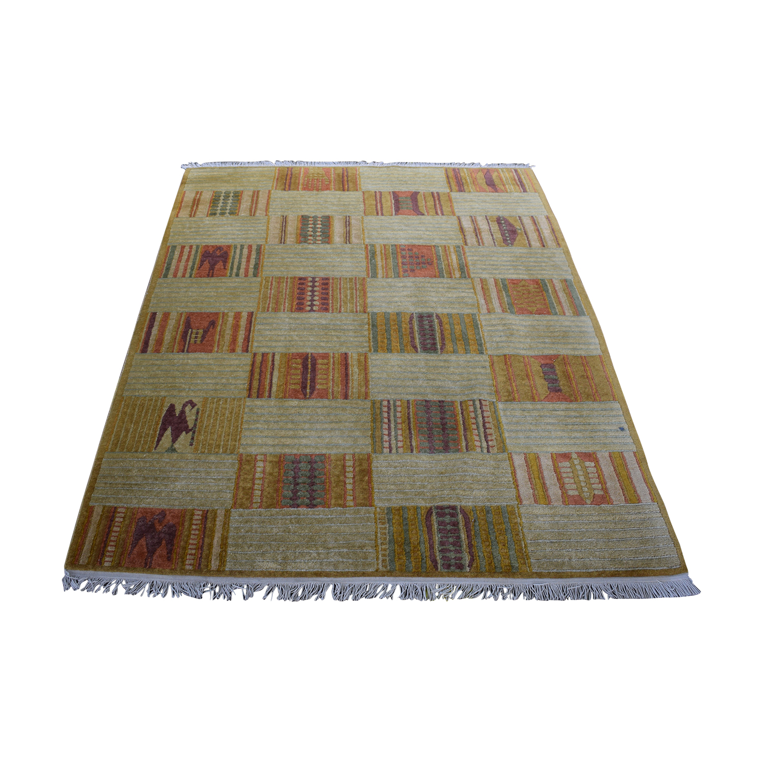 shop ABC Carpet & Home Hand-Knotted Wool Rug ABC Carpet & Home Decor