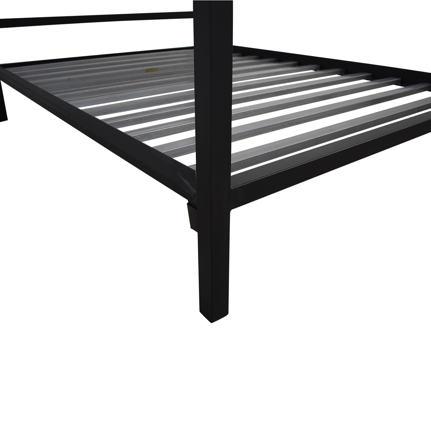 Room & Board Room & Board Architecture Queen Standard Bed in Natural Steel Bed Frames
