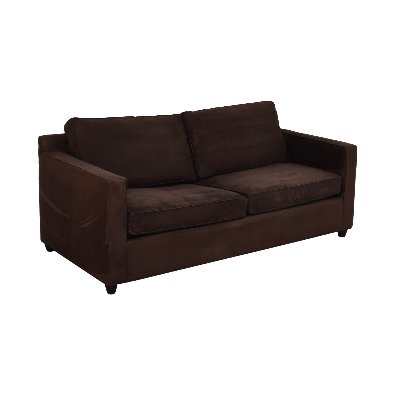 Ethan Allen Ethan Allen Barrett Microfiber Sofa for sale