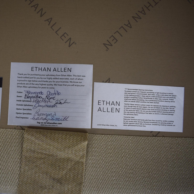 Ethan Allen Barrett Microfiber Sofa / Sofas