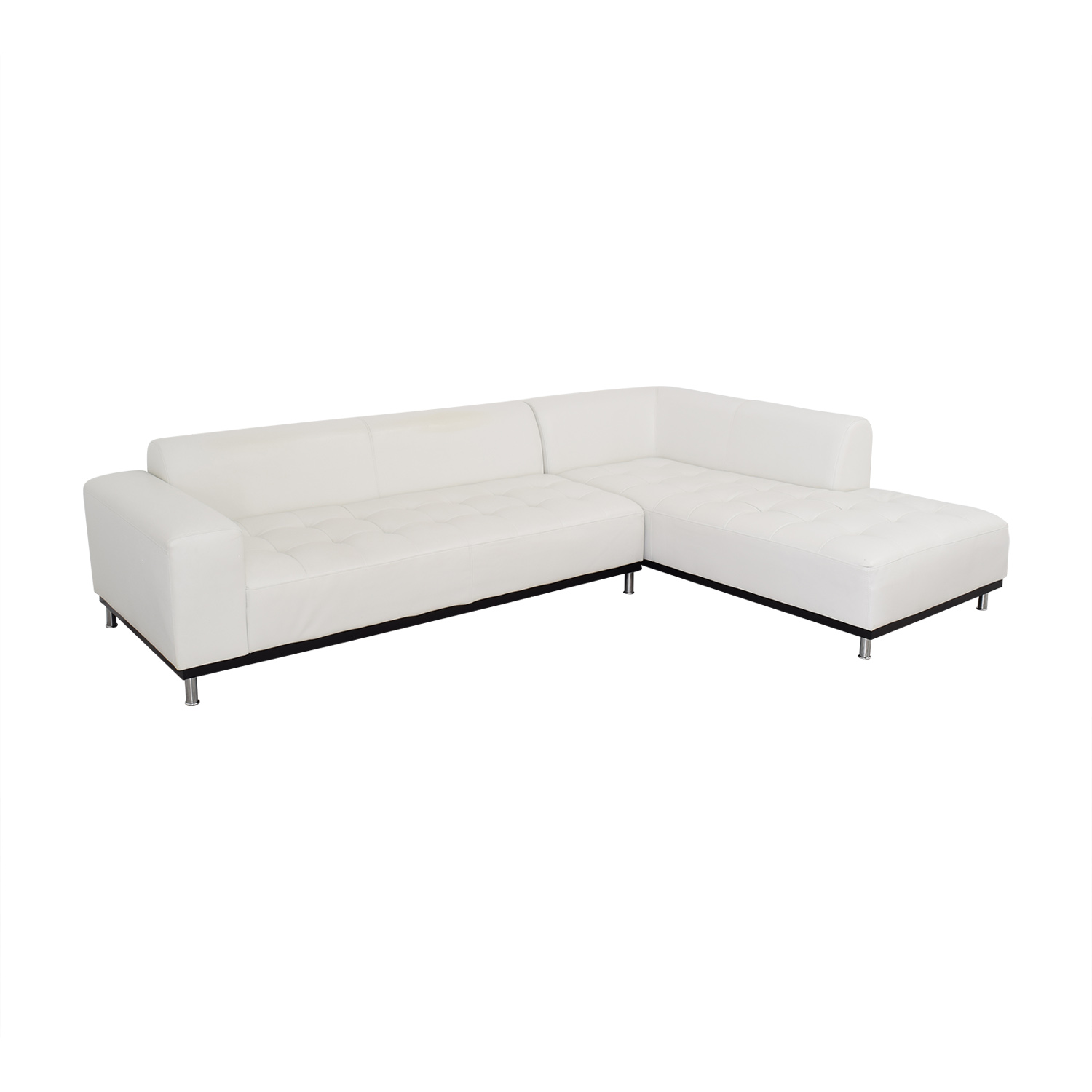 Four Hands Four Hands Modern Chaise Sectional Sofa ma
