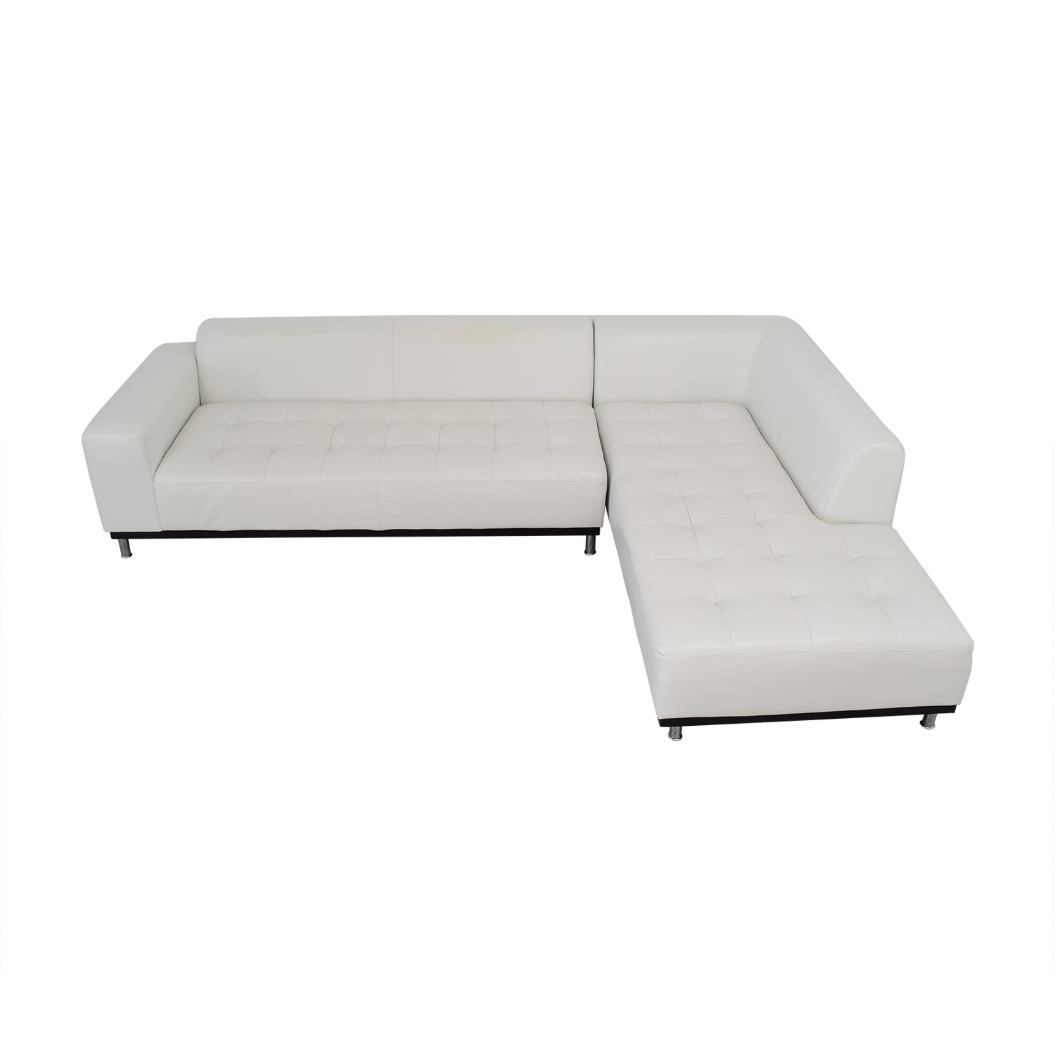 Four Hands Four Hands Modern Chaise Sectional Sofa Sofas