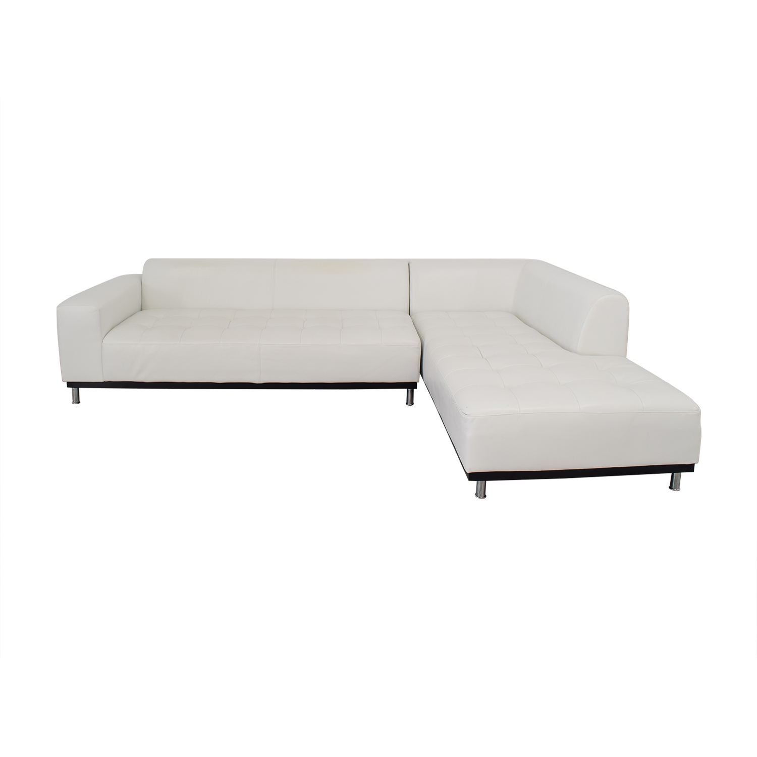 shop Four Hands Modern Chaise Sectional Sofa Four Hands Sectionals