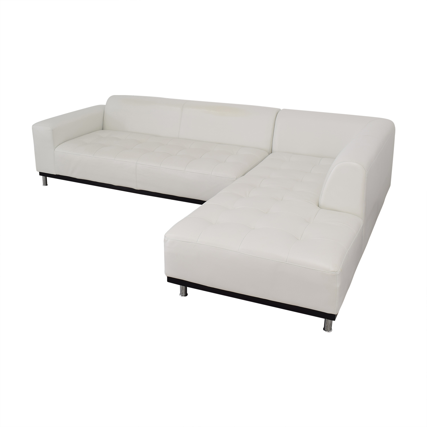 Four Hands Modern Chaise Sectional Sofa / Sectionals