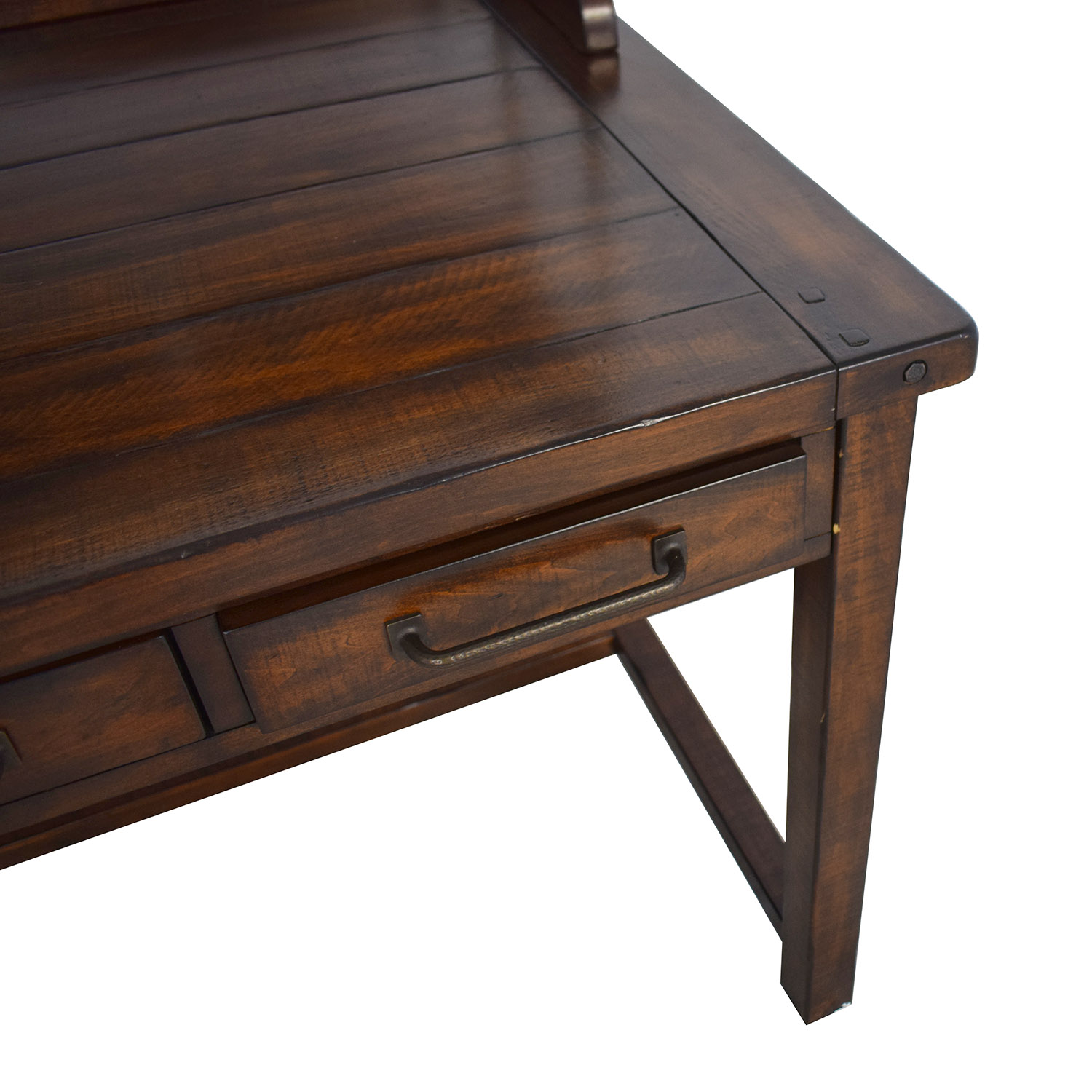 Pottery Barn Pottery Barn Benchwright Desk with Hutch price