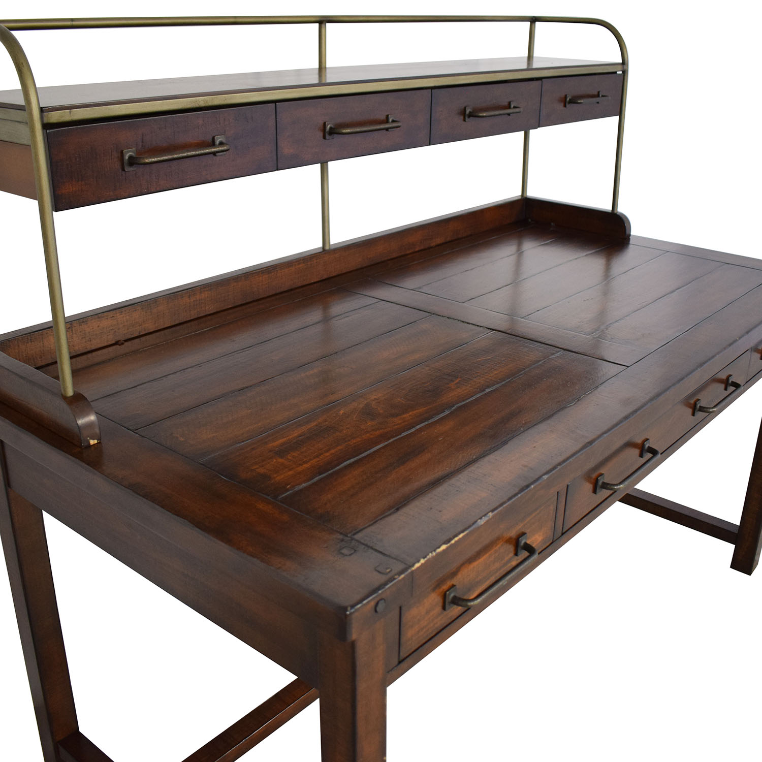 Pottery Barn Pottery Barn Benchwright Desk with Hutch discount
