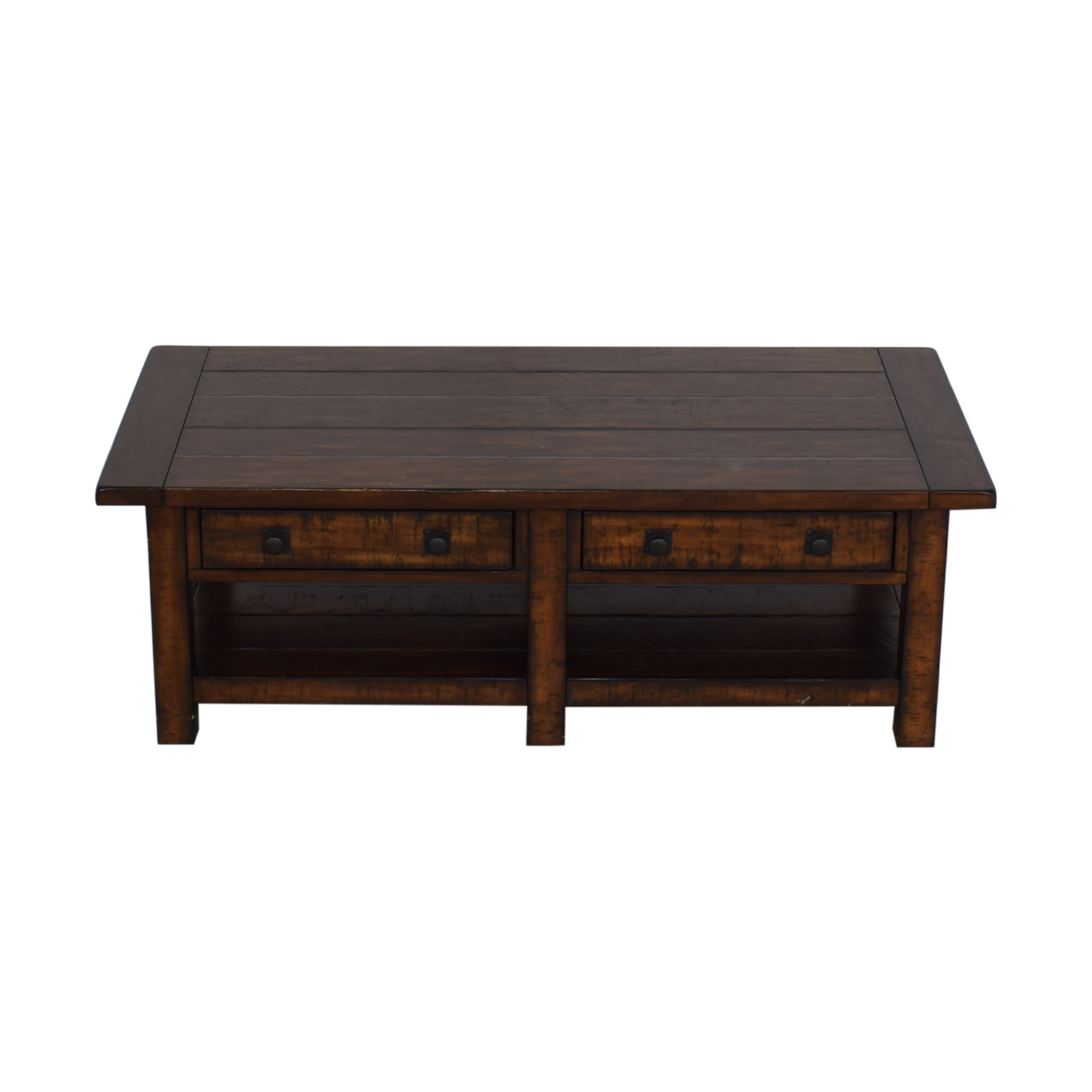 Pottery Barn Pottery Barn Benchwright Rectangular Coffee Table for sale