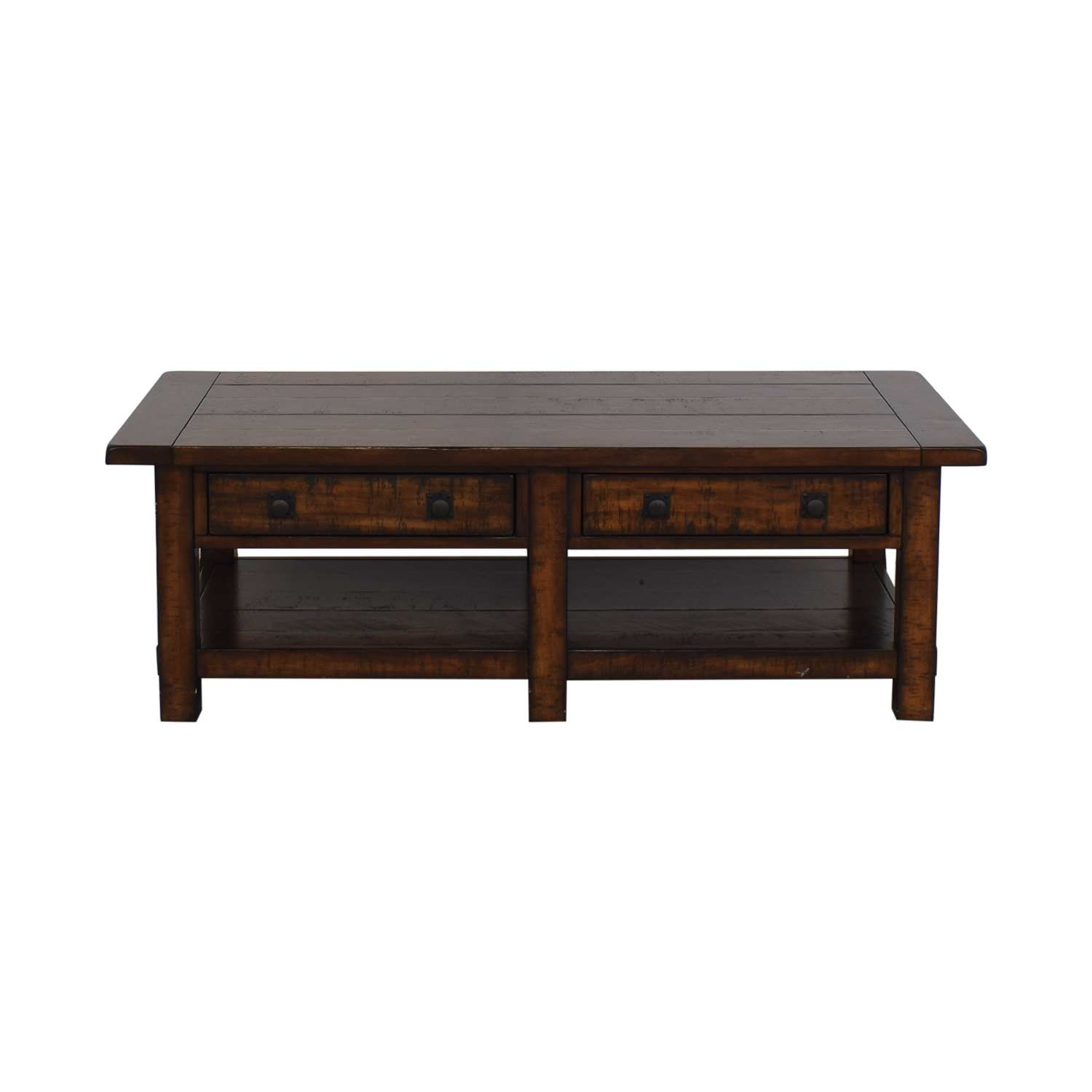 shop Pottery Barn Benchwright Rectangular Coffee Table Pottery Barn Coffee Tables