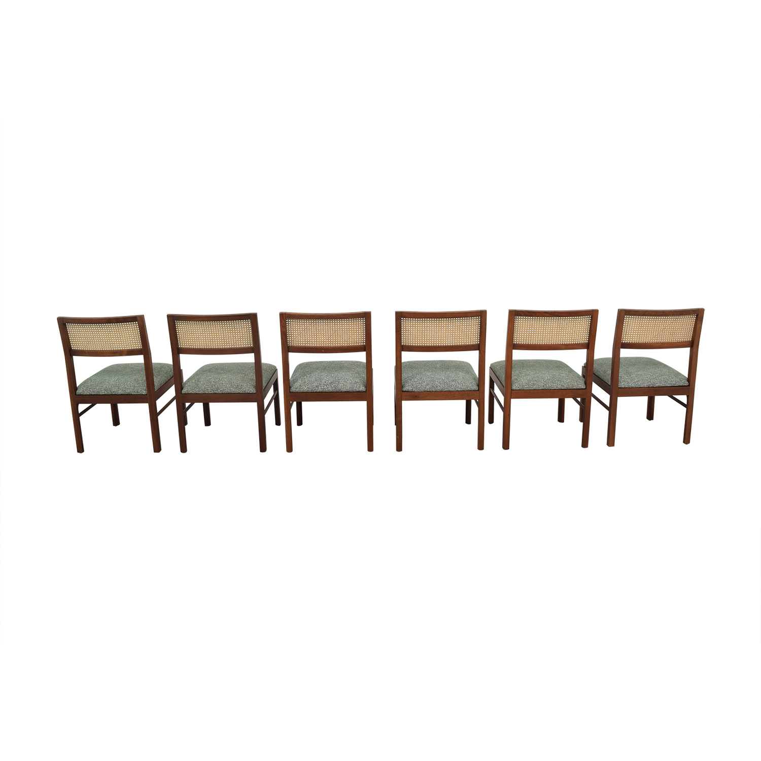 Cane Backed Dining Chairs for sale