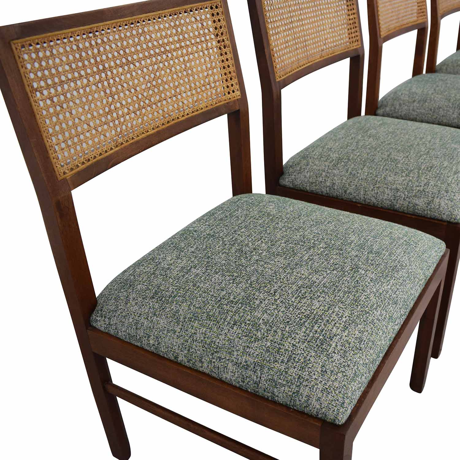 Cane Backed Dining Chairs on sale
