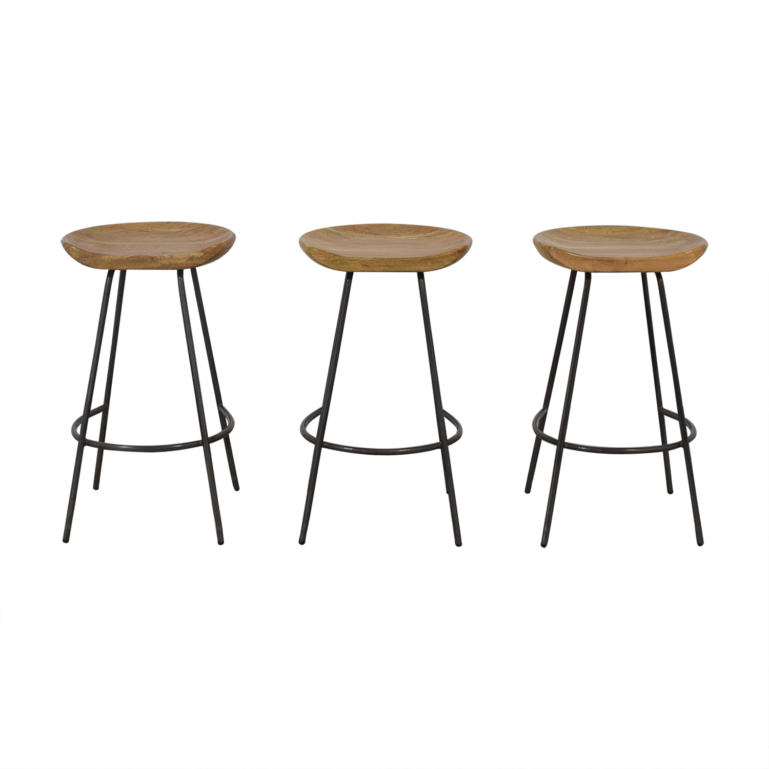 Tremendous 48 Off West Elm West Elm Alden Bar And Counter Stools Chairs Alphanode Cool Chair Designs And Ideas Alphanodeonline