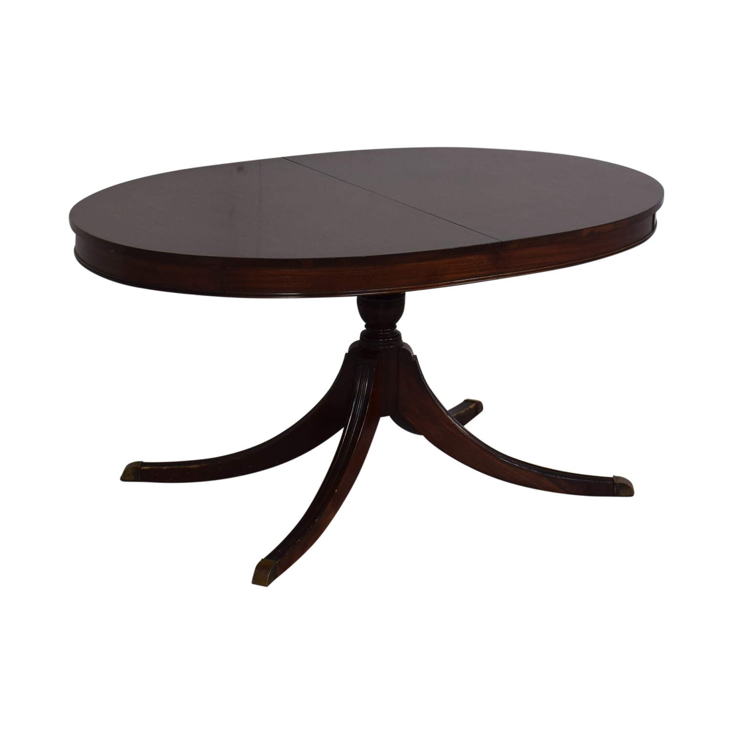 Antique Oval Dining Table / Dinner Tables