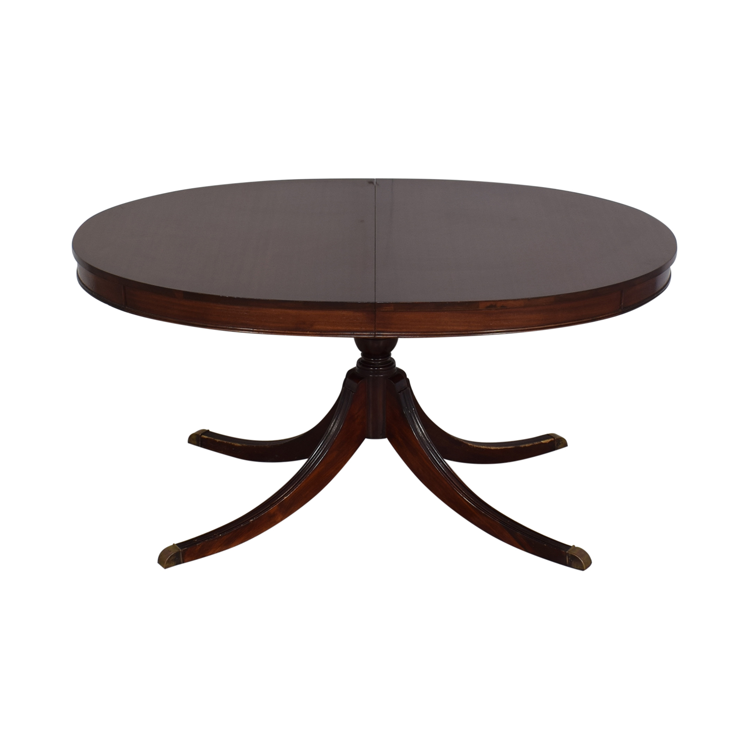 Antique Oval Dining Table dimensions