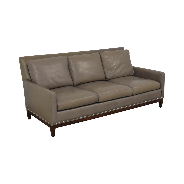 buy Arhaus Arhaus Taylor Leather Sofa online