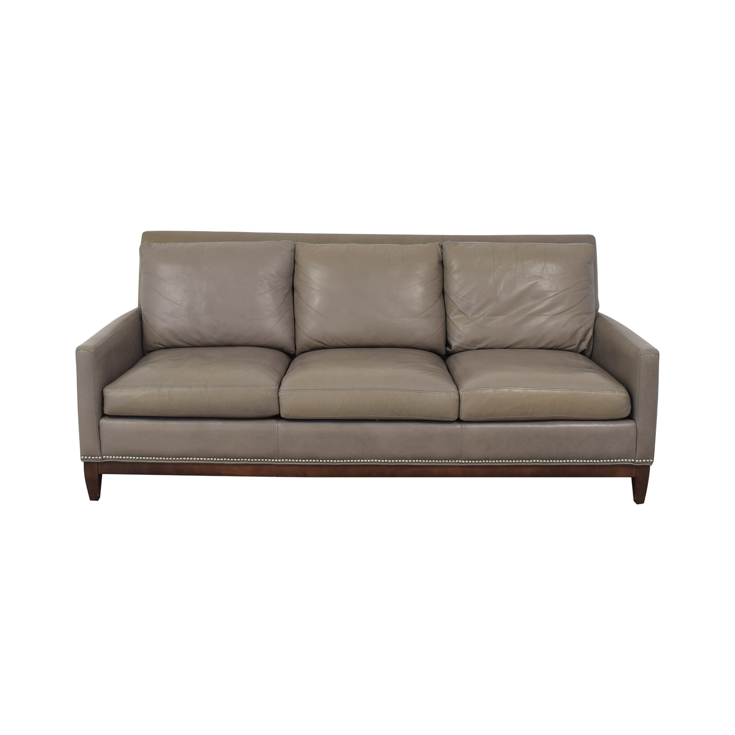 shop Arhaus Taylor Leather Sofa Arhaus Sofas