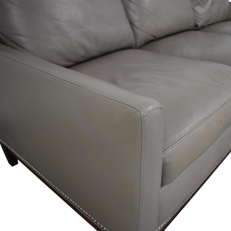 Arhaus Arhaus Taylor Leather Sofa second hand