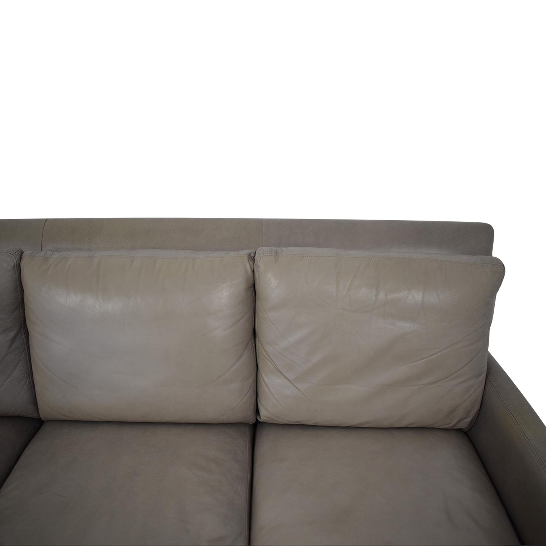 Arhaus Arhaus Taylor Leather Sofa on sale
