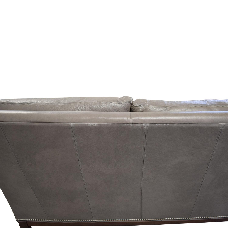 Arhaus Arhaus Taylor Leather Sofa used