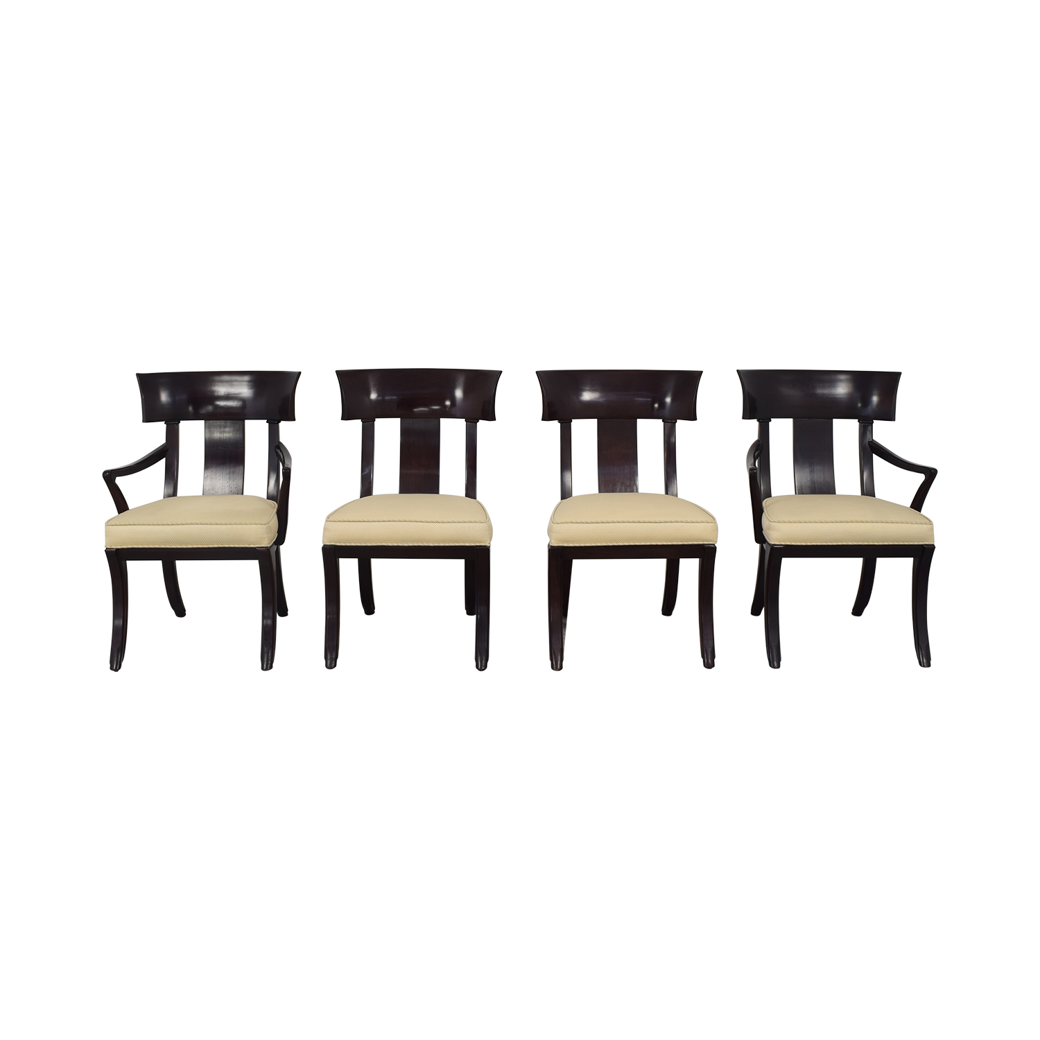 shop Henredon Upholstered Dining Chairs Henredon Furniture Chairs