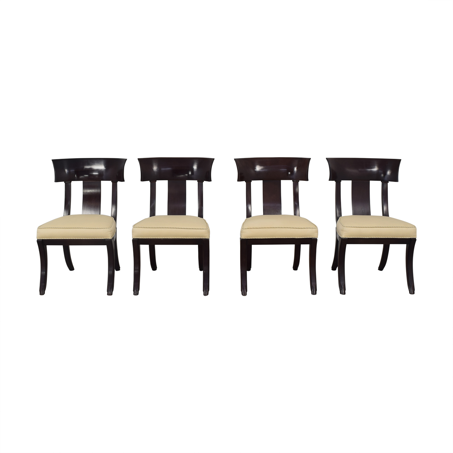 Henredon Furniture Henredon Upholstered Dining Chairs used