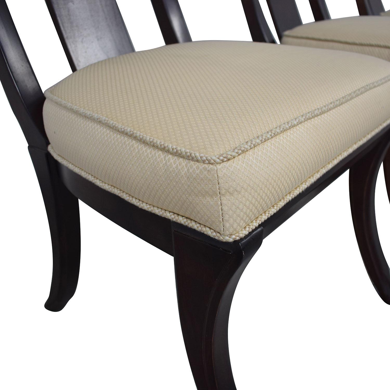 Henredon Furniture Henredon Upholstered Dining Chairs used