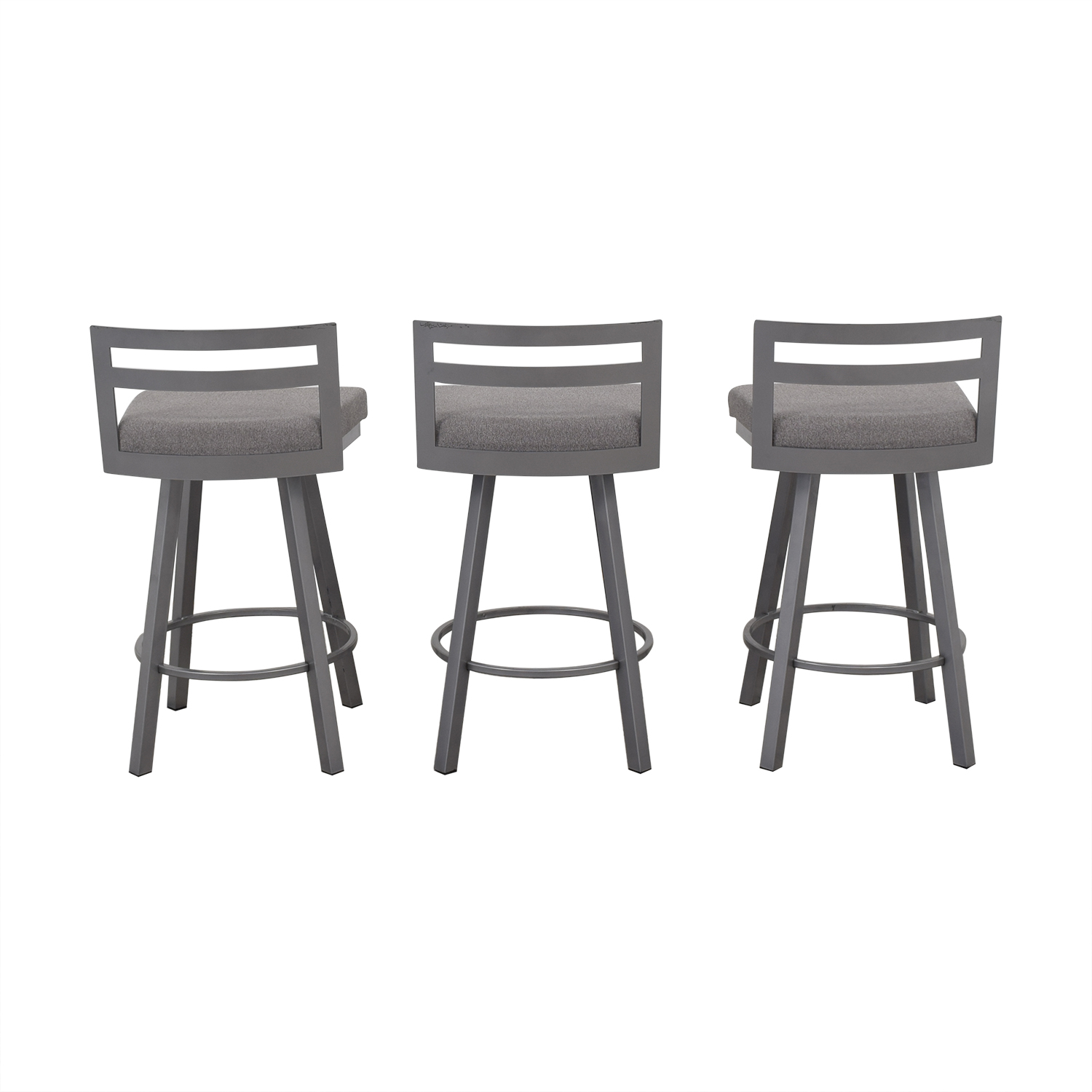 Enjoyable 60 Off Amisco Amisco Derek Swivel Counter Stools Chairs Alphanode Cool Chair Designs And Ideas Alphanodeonline