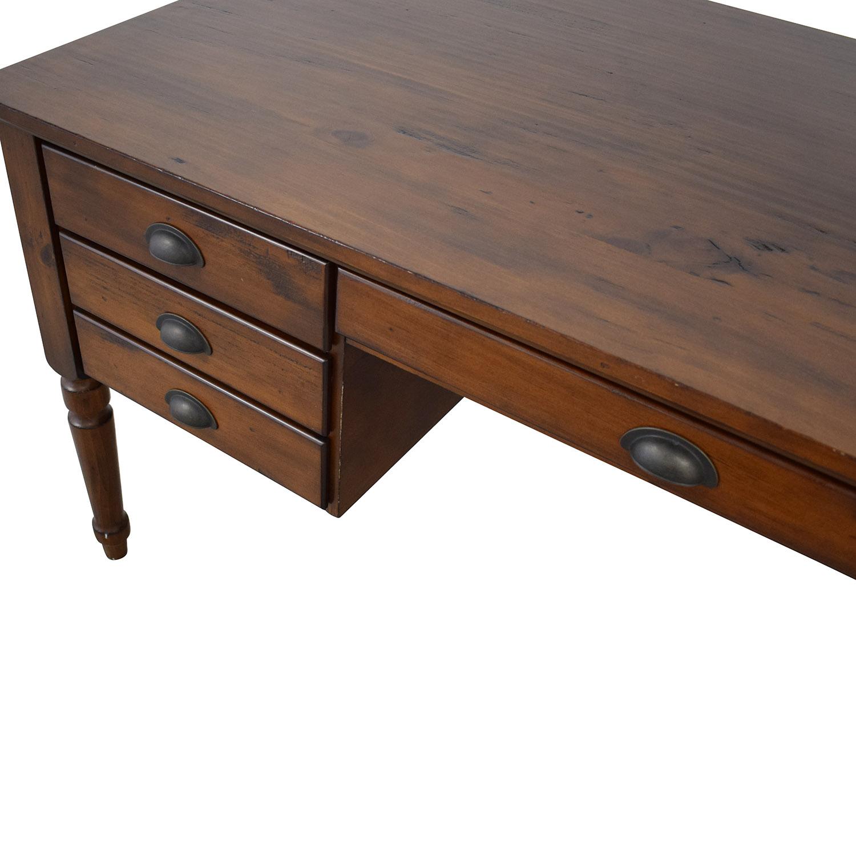 Pottery Barn Printer's Keyhole Desk / Tables
