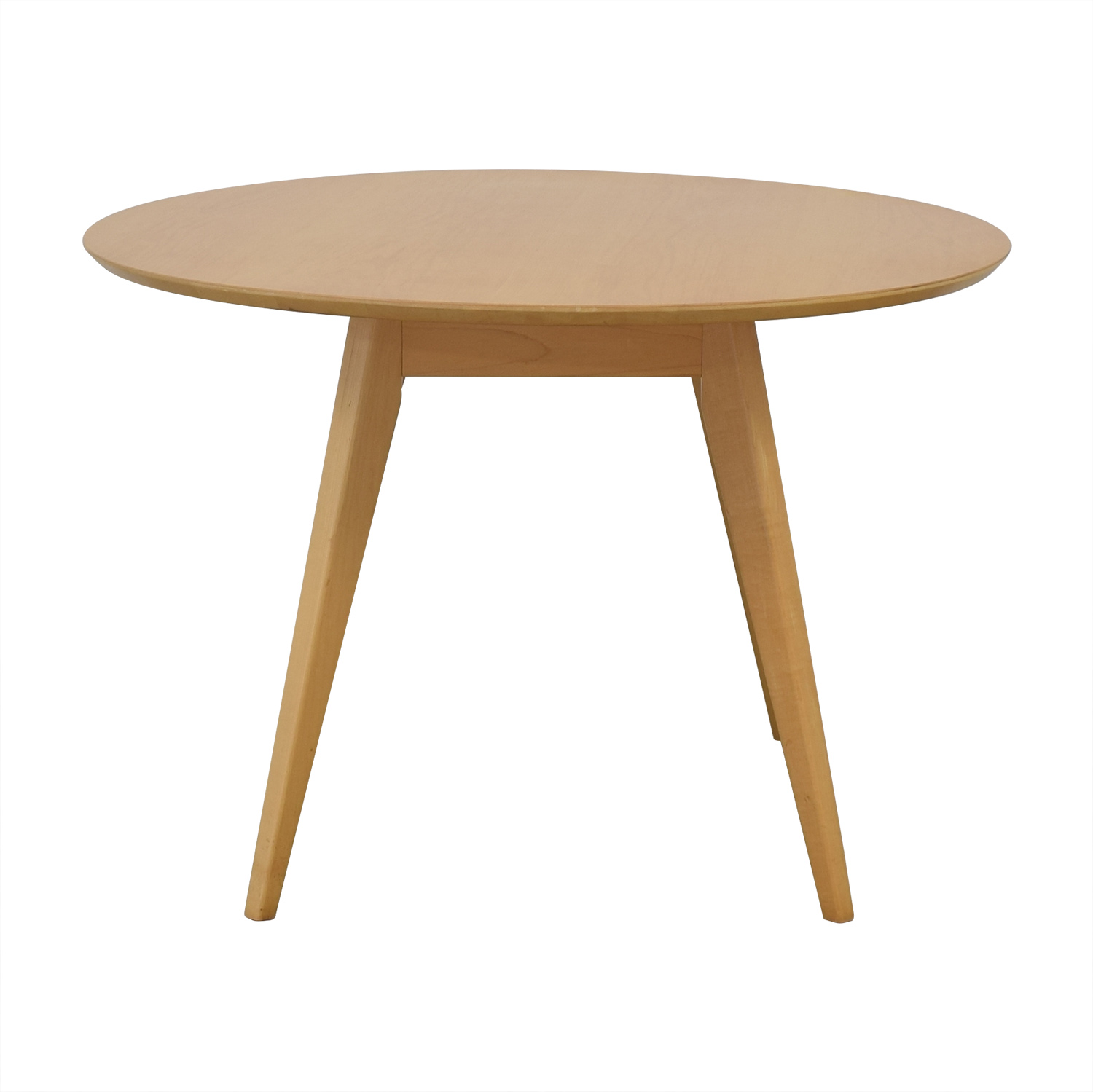 buy Design Within Reach Risom Round Dining Table Design Within Reach