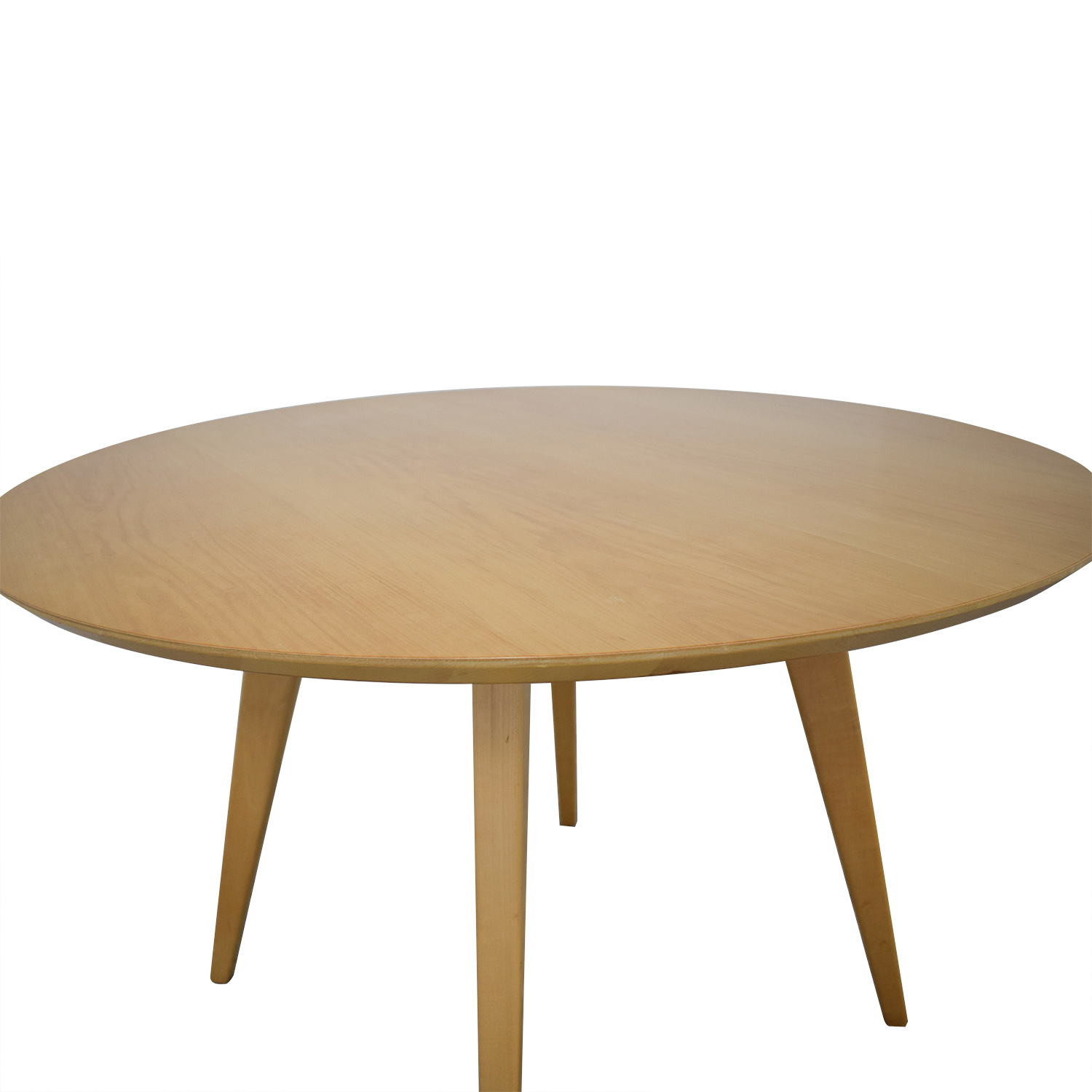buy Design Within Reach Risom Round Dining Table Design Within Reach Tables