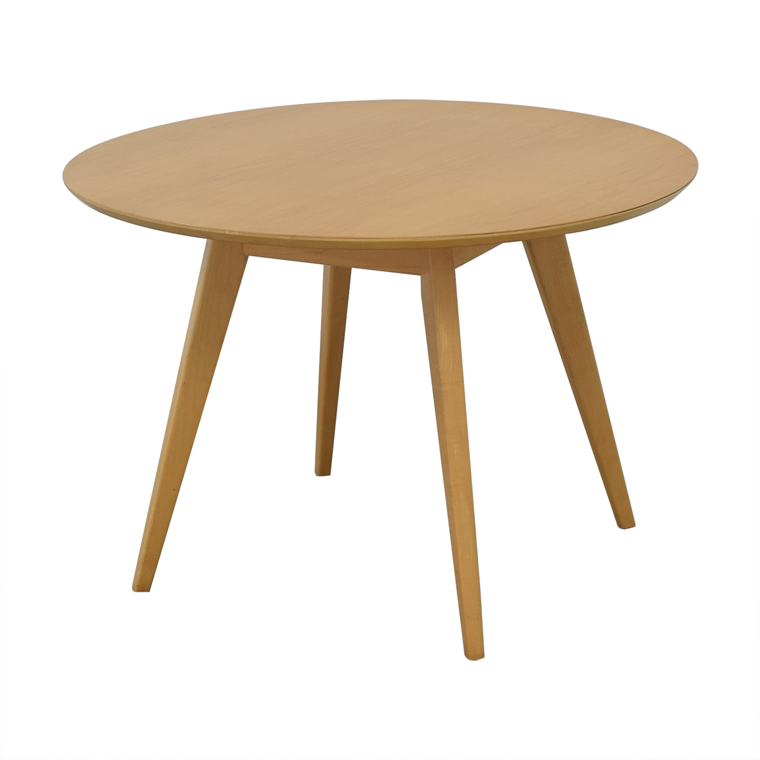 Design Within Reach Risom Round Dining Table Design Within Reach