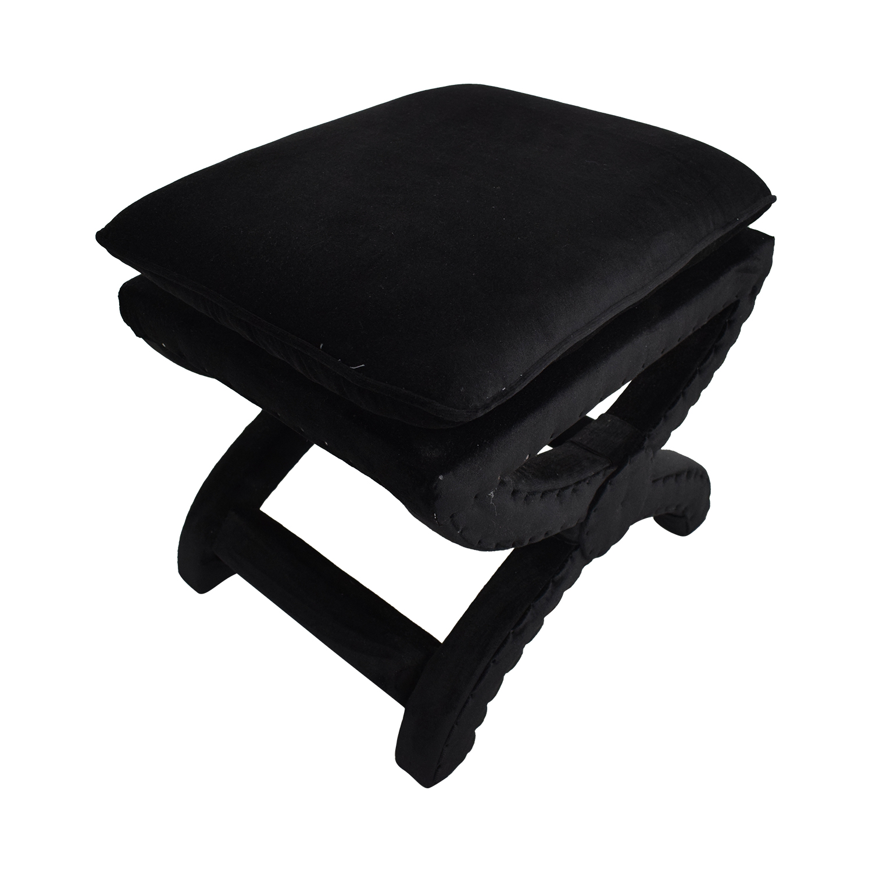 buy Restoration Hardware Toscane Nailhead Stool Restoration Hardware Chairs