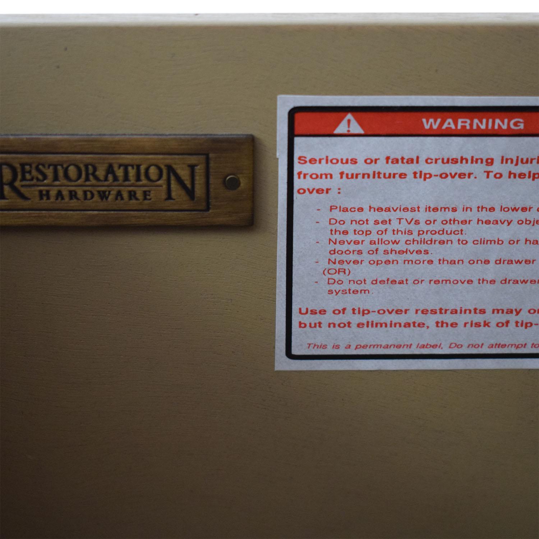 buy Restoration Hardware Restoration Hardware Empire Rosette Tall Cabinet online
